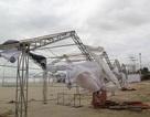 Công trình Đại hội thể thao Châu Á tan hoang sau bão