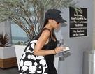 Victoria Beckham lẻ loi tập gym