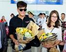 Sao TVB rạng rỡ khi tới Việt Nam