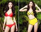 """Á hậu Hà Thu """"bốc lửa"""" trong trang phục bikini"""