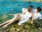 Vân Trang khoe ảnh cưới đẹp gợi cảm trên biển