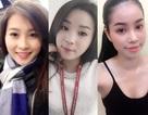 """Cận cảnh mặt """"mộc"""" xinh đẹp của 5 hoa hậu Việt"""