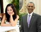 Diễn viên Lan Phương háo hức chờ gặp gỡ tổng thống Mỹ Obama