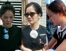 Nghệ sĩ xót xa khi tới viếng ca sĩ Minh Thuận