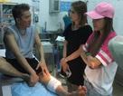 Đàm Vĩnh Hưng bị tai nạn phải khâu 6 mũi trước khi diễn ra liveshow