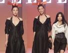 Hoa hậu Kỳ Duyên gây bất ngờ khi xuất hiện trên sàn catwalk chuyên nghiệp