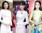 Hoa hậu Mỹ Linh, Đặng Thu Thảo.... về thăm trường, Trương Thị May làm giám khảo