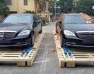 Hai chiếc limousine chống đạn của Mercedes-Benz có mặt tại Việt Nam
