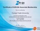 ĐH Ngoại Thương gia nhập mạng lưới đảm bảo chất lương AUN-QA