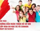 Hướng dẫn hoàn thiện hồ sơ xin cấp Visa du học Úc và Canada