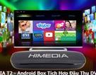 Android Box tích hợp đầu thu kỹ thuật số DVB T2 , kết hợp giải trí trong gia đình