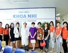 Viện chăm sóc sức khỏe và sắc đẹp nổi tiếng chung tay thắp sáng hi vọng cho bệnh nhi ung thư