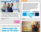 Những dấu mốc trong 20 năm kiến tạo niềm tin của VinaPhone