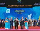 """Thương hiệu dây cáp điện Trần Phú tiếp tục đạt """"thương hiệu quốc gia Việt Nam 2016"""""""