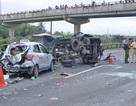 Vụ 5 ô tô đâm nhau trên cao tốc: 2 người chết, 2 người bị thương