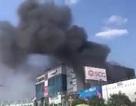 Cột khói đen bốc cao cả chục mét gần sân bay Tân Sơn Nhất