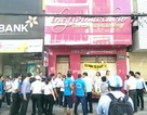 Mang quan tài phản đối cưỡng chế thu hồi nhà ở trung tâm Sài Gòn