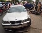 Ôtô BMW gây tai nạn, 3 người bị thương
