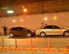 Phong tỏa làn ô tô trong hầm Thủ Thiêm do tai nạn liên hoàn