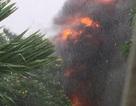 Trạm biến áp nổ như bom trong mưa, hàng ngàn hộ dân mất điện