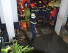 Hàng loạt hầm để xe biến thành hầm nước sau mưa lớn