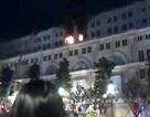 Cháy tại tòa nhà 7 tầng trên phố đi bộ Nguyễn Huệ