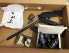 Bảo vệ khu công nghiệp phát hiện thanh niên mang súng đi giao cho khách