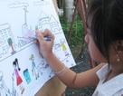 Học sinh sôi nổi thi vẽ tranh đón Tết Trung thu