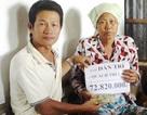 Gần 73 triệu đồng đến với gia đình bà Quách Thị Lan