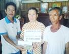 Hơn 19 triệu đồng đến với gia đình bà Nguyễn Thị Xíu