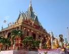 Chùa Khmer rực rỡ đón Tết cổ truyền