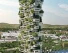 Tòa nhà siêu độc cao hơn 100m phủ toàn cây xanh