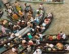 Hình ảnh chợ nổi Việt Nam tuyệt đẹp trên báo nước ngoài