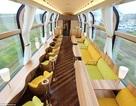 """Trải nghiệm thú vị với tàu hỏa """"trong suốt"""" ở Nhật"""