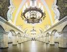 """Choáng trước """"thế giới ngầm"""" lộng lẫy dưới lòng đất Moscow, Nga"""