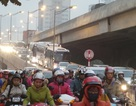 Hà Nội: Tắc đường kinh hoàng sau khi thông hầm ở nút giao thông 4 tầng
