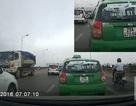 """Hà Nội: Taxi chạy kiểu """"Fast & Furious"""" trên cầu Vĩnh Tuy"""