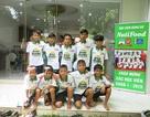 Học viện bóng đá NutiFood đã khai giảng khóa đầu tiên