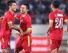 Thắng đậm Brunei, U19 Việt Nam lên ngôi đầu bảng G