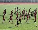 U23 Việt Nam vẫn tranh thủ tập luyện trước lúc lên đường