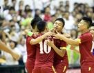 Đội tuyển futsal nam Việt Nam hạ Malaysia trong trận cầu kịch tính