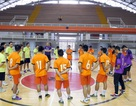 Đội tuyển futsal Việt Nam tập buổi đầu tiên tại Colombia trước thềm World Cup