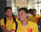 Đội tuyển Việt Nam về đến TPHCM, sẵn sàng cho bán kết AFF Cup 2016
