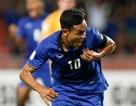 Tiền đạo ngôi sao Thái Lan muốn ghi bàn trên sân Myanmar