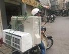 Hà Nội vào hè: Thợ tân trang máy lạnh kiếm 20 triệu đồng/tháng