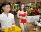 Sở VH, TT Hà Nội sẽ xử lý vụ nhân viên mặc bikini bưng đồ ăn