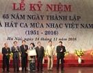 Kỷ niệm 65 năm thành lập Nhà hát Ca Múa Nhạc Việt Nam