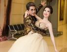MC Thanh Bạch dạy Á hậu Thụy Vân khiêu vũ
