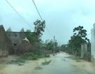Trường học ngập, đường vào xã bị ách tắc, chia cắt