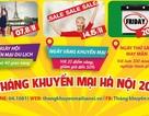 Tháng khuyến mại Hà Nội 2015: Cầu nối doanh nghiệp với người tiêu dùng